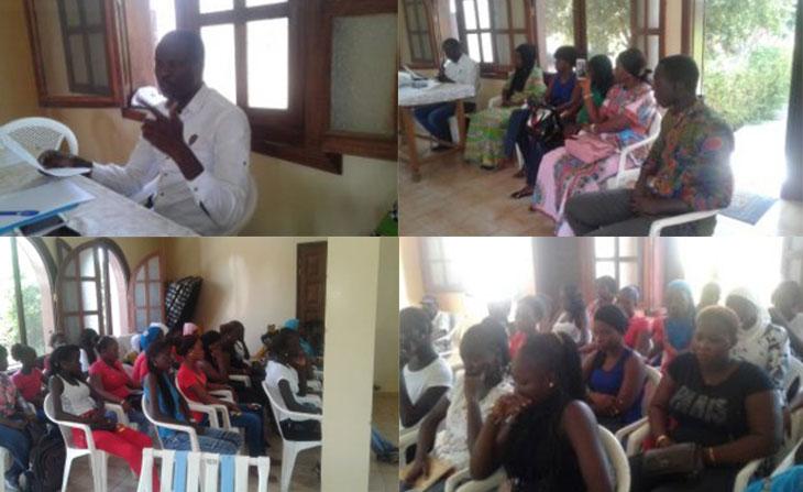 Première cohorte du Gîte-école de Mbour au Sénégal